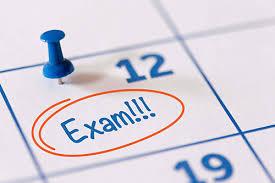 Ημερομηνίες Εξετάσεων Δεκεμβρίου 2019