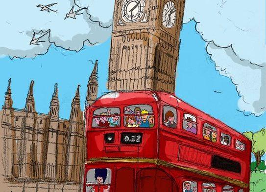 Έτοιμοι για την εκδρομή μας στην Αγγλία!!!